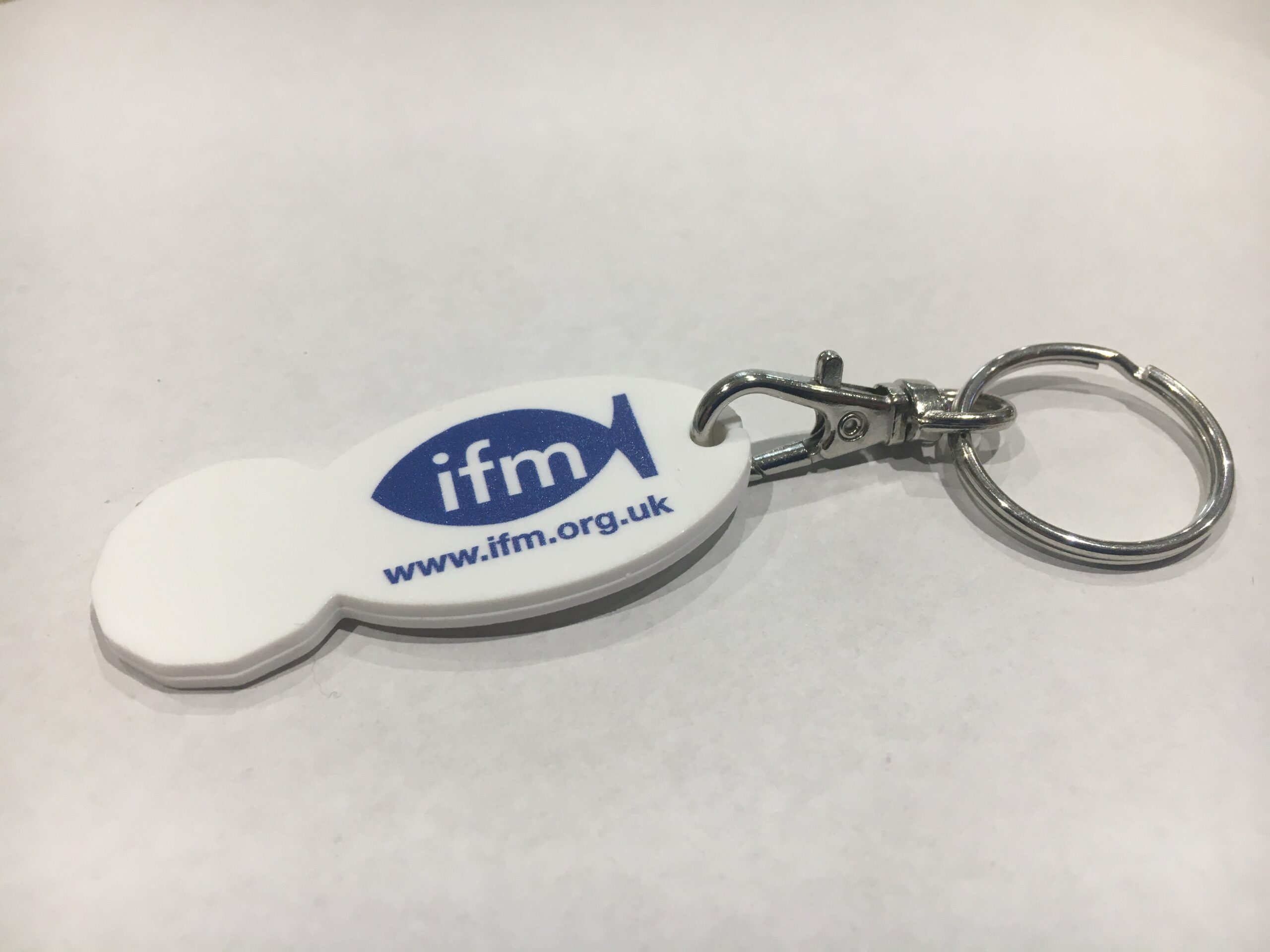 IFM Trolley token keyring